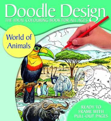 Doodle Design World of Animals - FSC (Paperback)