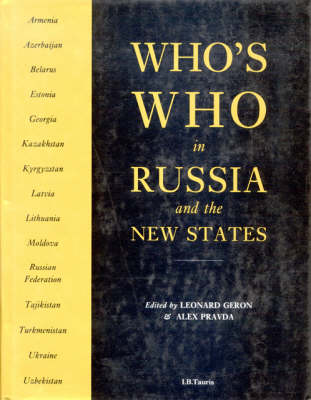 Who's Who in Russia and the New States (Hardback)