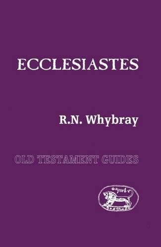 Ecclesiastes - Old Testament guides 17 (Paperback)