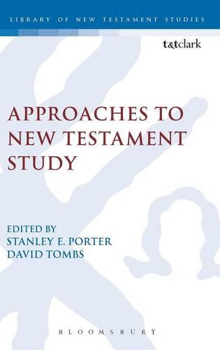 Approaches to New Testament Study - Journal for the Study of the New Testament Supplement S. No. 120 (Hardback)