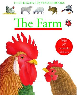 The Farm - First Discovery Sticker Books (Paperback)