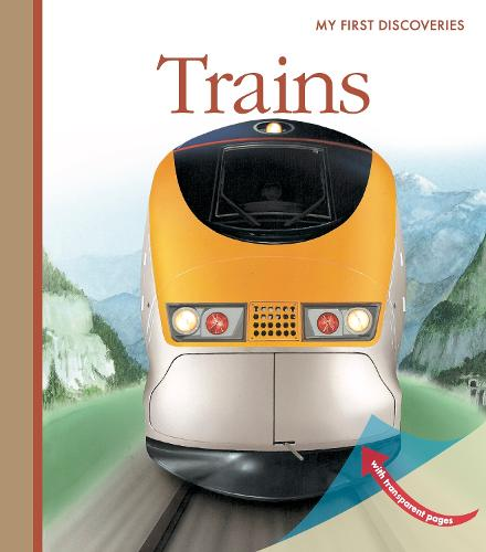Trains - My First Discoveries (Spiral bound)