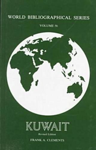 Kuwait - World Bibliographical S. v. 56 (Hardback)