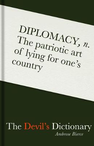 The Devil's Dictionary (Hardback)