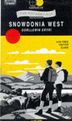 Snowdonia West - Walker's Map S. (Sheet map, folded)