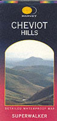 Cheviot Hills - Superwalker (Sheet map, folded)