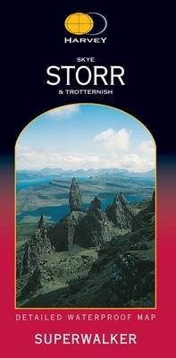 Skye Trotternish - Superwalker (Sheet map, folded)