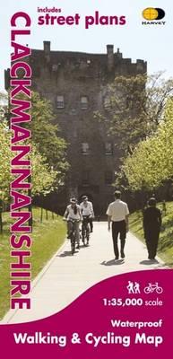 Clackmannanshire: Walking and Cycling (Sheet map, folded)