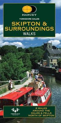 Yorkshire Dales: Skipton and Surroundings Walks (Sheet map, folded)