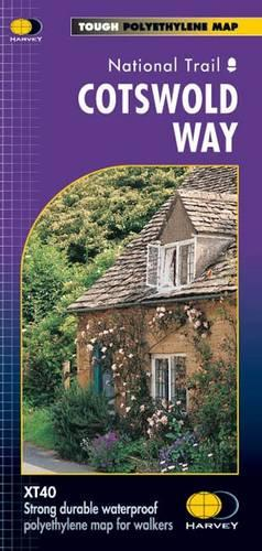 Cotswold Way XT40 - Route Map (Sheet map, folded)