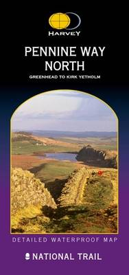 Pennine Way North: Greenhead to Kirk Yetholm - Route Map Series (Sheet map, folded)