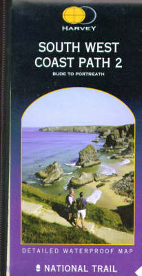 South West Coast Path 2: Bude to Portreath - Route Map (Sheet map, folded)