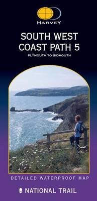 South West Coast Path 5 XT40: Plymouth to Sidmouth - Route Map (Sheet map, folded)