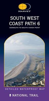 South West Coast Path 6: Sidmouth to South Haven Point - Route Map (Sheet map, folded)