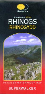 Snowdonia Rhinogs - Superwalker (Sheet map, folded)