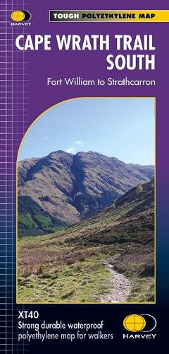 Cape Wrath Trail South XT40: Route Map (Sheet map, folded)