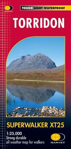 Torridon XT25 - Superwalker (Sheet map, folded)