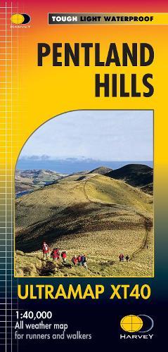 Pentland Hills Ultramap - Ultramap (Sheet map, folded)