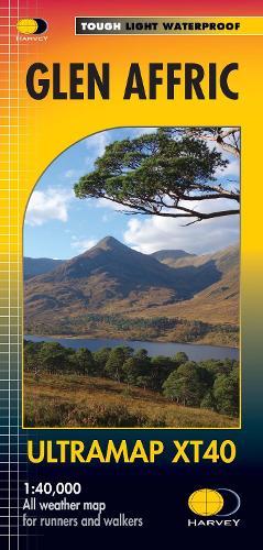 Glen Affric: Ultramap - Ultramap (Sheet map, folded)