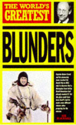 The World's Greatest Blunders - World's Greatest (Paperback)