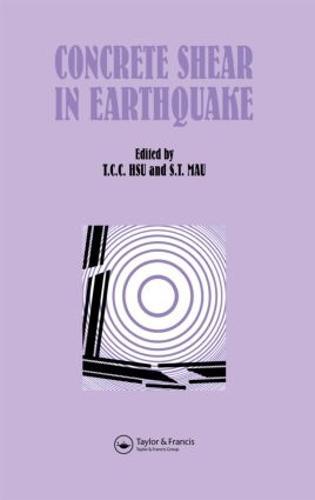 Concrete Shear in Earthquake (Hardback)