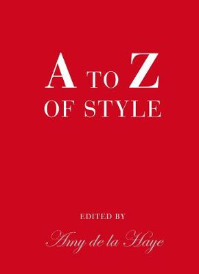 A to Z of Style (Hardback)