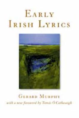 Early Irish Lyrics (Paperback)