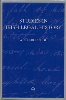 Studies in Irish Legal History (Hardback)