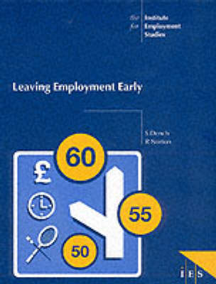 Leaving Employment Early - IES Reports No. 322 (Paperback)