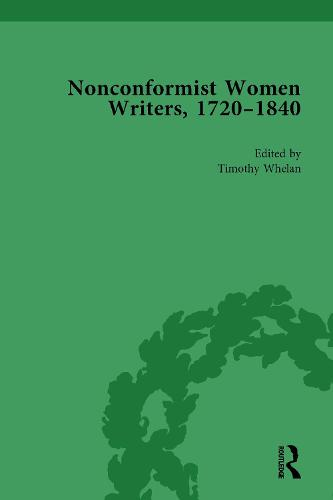 Nonconformist Women Writers, 1720-1840, Part I (set) (Hardback)