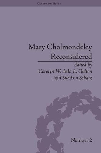 Mary Cholmondeley Reconsidered - Gender and Genre (Hardback)