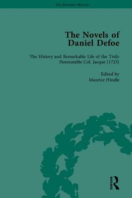 The Novels of Daniel Defoe, Part II - The Pickering Masters (Hardback)