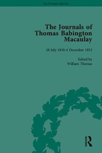 The Journals of Thomas Babington Macaulay - The Pickering Masters (Hardback)