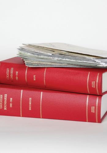 Cambridge Archive Editions: Caucasian Boundaries 1802-1946 Hardback Document and Boxed Map Set