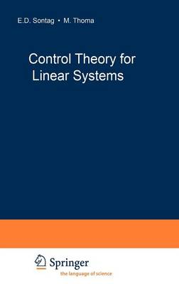 Control Theory for Linear Systems - Communications and Control Engineering (Hardback)