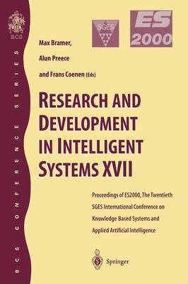 research and development in intelligent systems xvii coenen frans preece alun