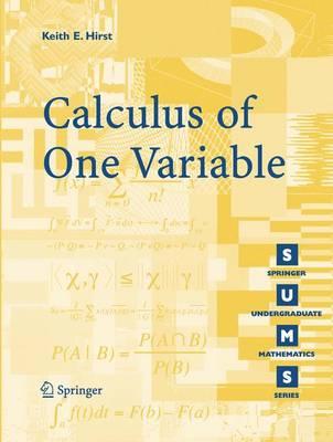 Calculus of One Variable - Springer Undergraduate Mathematics Series (Paperback)