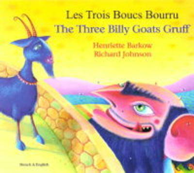 The Three Billy Goats Gruff in Portuguese and English - Folk Tales (Paperback)
