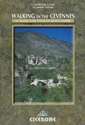Walking in the Cevennes: 31 walks and the Tour of Mont Lozere (Paperback)