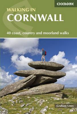 Walking in Cornwall: 40 Coast, Country and Moorland Walks (Paperback)