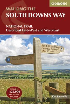 The South Downs Way: Winchester to Eastbourne, described in both directions (Paperback)