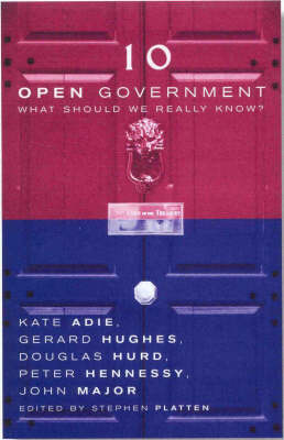 Open Government: What Should We Really Know? (Paperback)
