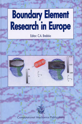 Boundary Element Research in Europe - Boundary Elements v. 1. (Hardback)
