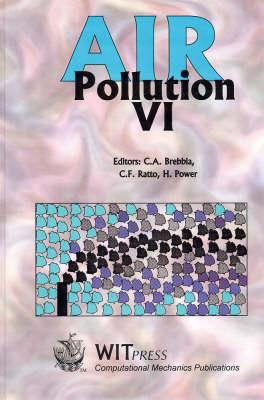 Air Pollution: 6th - Advances in Air Pollution S. v. 5. (Hardback)