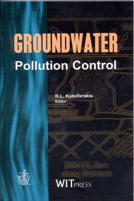 Groundwater Pollution Control - Progress in Water Resources v.2 (Hardback)