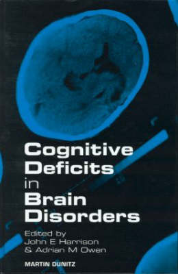 Cognitive Deficits in Brain Disorders (Hardback)
