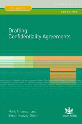 Drafting Confidentiality Agreements (Paperback)