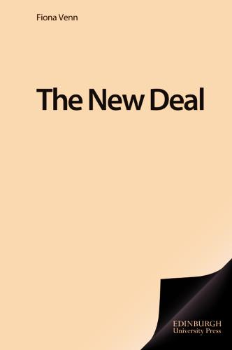 The New Deal - British Association for American Studies (BAAS) Paperbacks (Paperback)