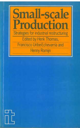Small-Scale Production: Strategies for industrial restructuring (Paperback)