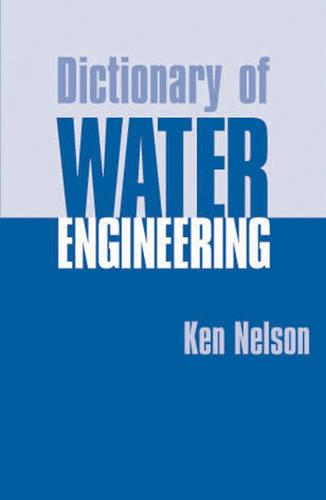 Dictionary of Water Engineering (Hardback)